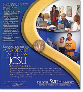 Johnson C. Smith University +Set?Communicate!